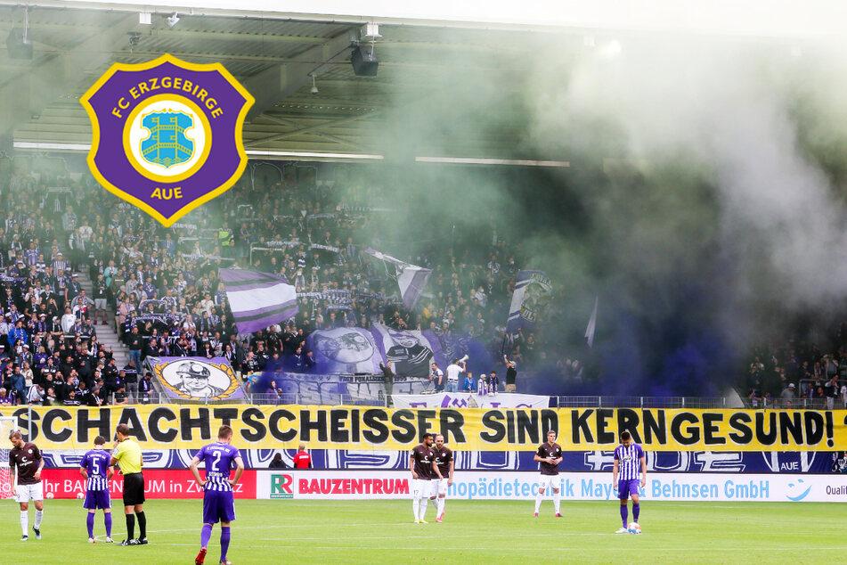Wegen Pyrotechnik im Fanblock: FC Erzgebirge Aue muss blechen