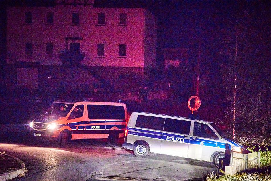 Die Polizei war am Samstag zu einem Einsatz in Gohrisch und musste einen rechten Liederabend beenden.