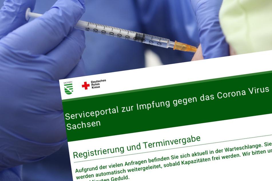 Wer online einen Termin für die Corona-Impfung buchen möchte, sollte sich auf Wartezeiten einstellen.