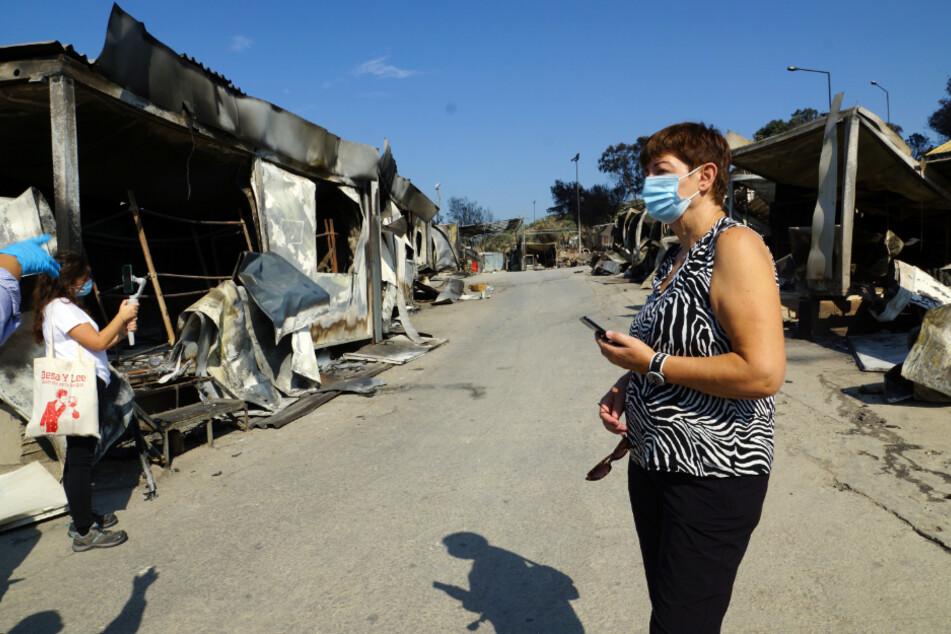 Linken-Abgeordnete in Moria: So erschüttert ist Cornelia Ernst über das Flüchtlingselend