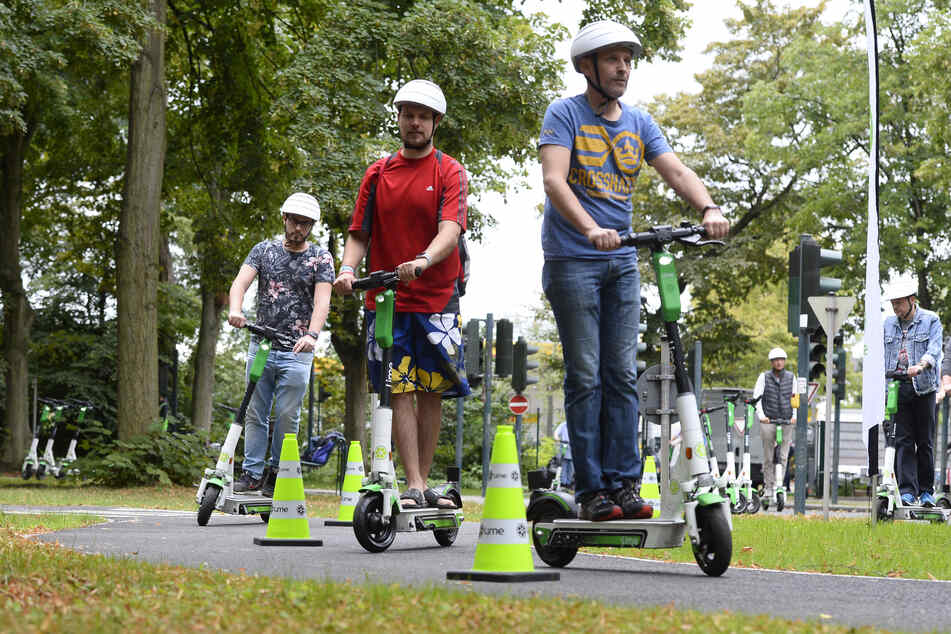 E-Scooter nach Corona-Krise: Lime, Dott und Voi konkurrieren in Köln