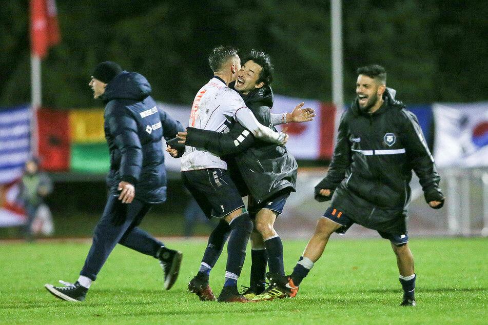 Durch einen Sieg über Drittligist FSV Zwickau (2:1) zog der FC International Leipzig überraschend ins Sachsenpokal-Halbfinale ein.