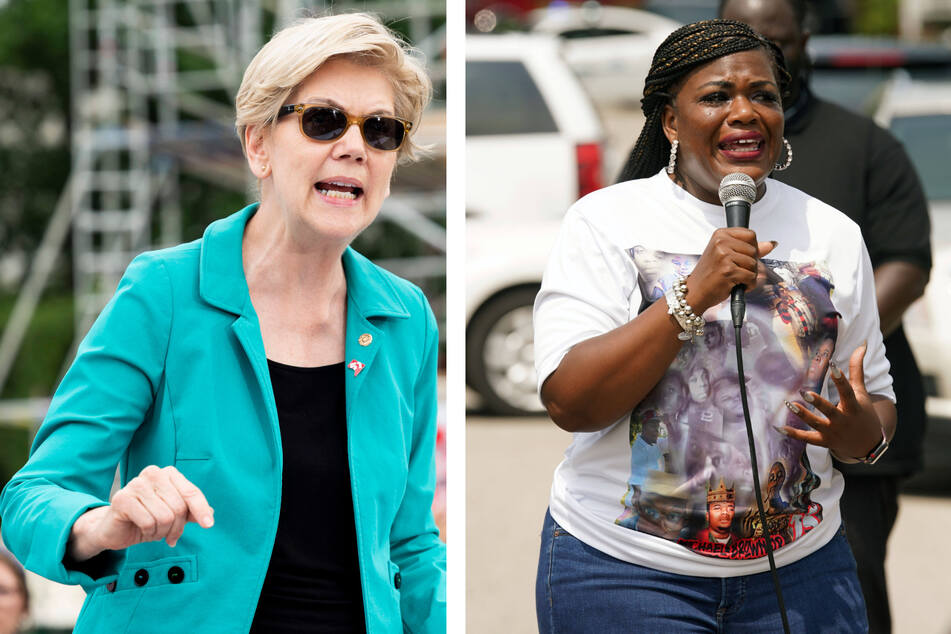 Cori Bush and Elizabeth Warren team up in fight to extend eviction moratoriums