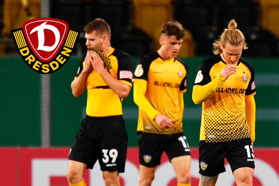 Dynamos Pokalträume geplatzt! Lilien zu stark für die SGD