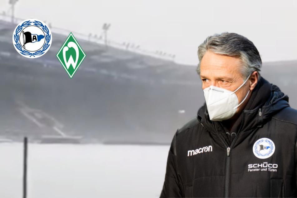 Wetter-Auswirkungen: Bundesliga-Partie zwischen Bielefeld und Bremen abgesagt