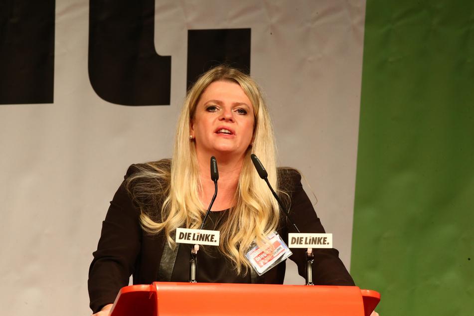 Susanne Schaper (43, Die Linke), Landesvorsitzende in Sachsen, ist gelernte Krankenschwester.