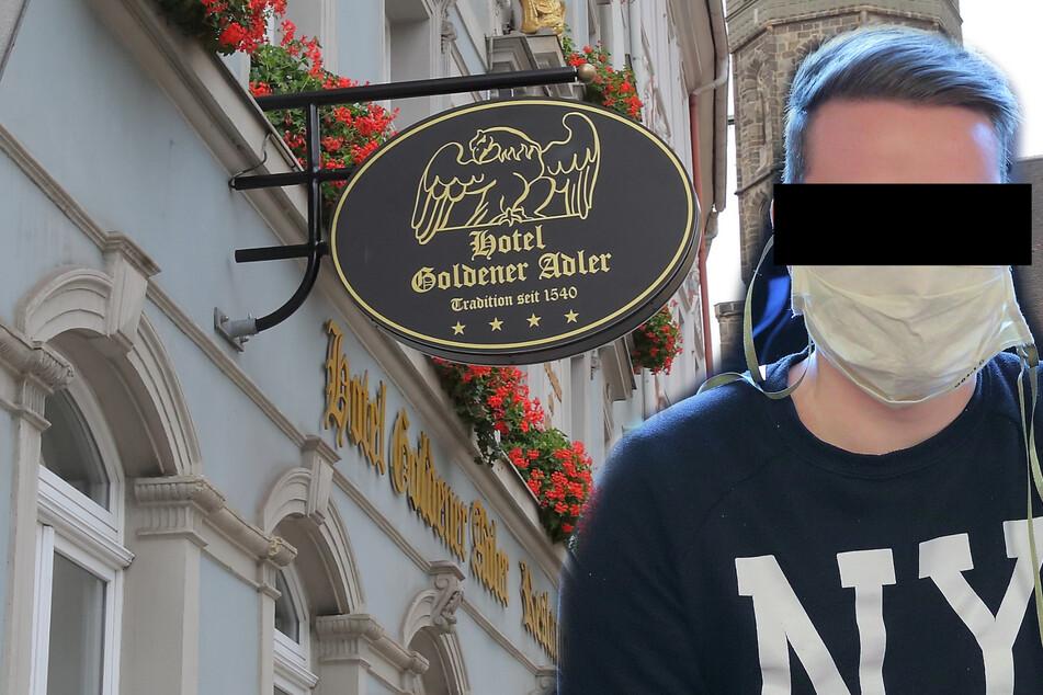 Jetzt wohnt er mietfrei im Knast: Zechpreller klaute im Hotel auch noch die Handtücher