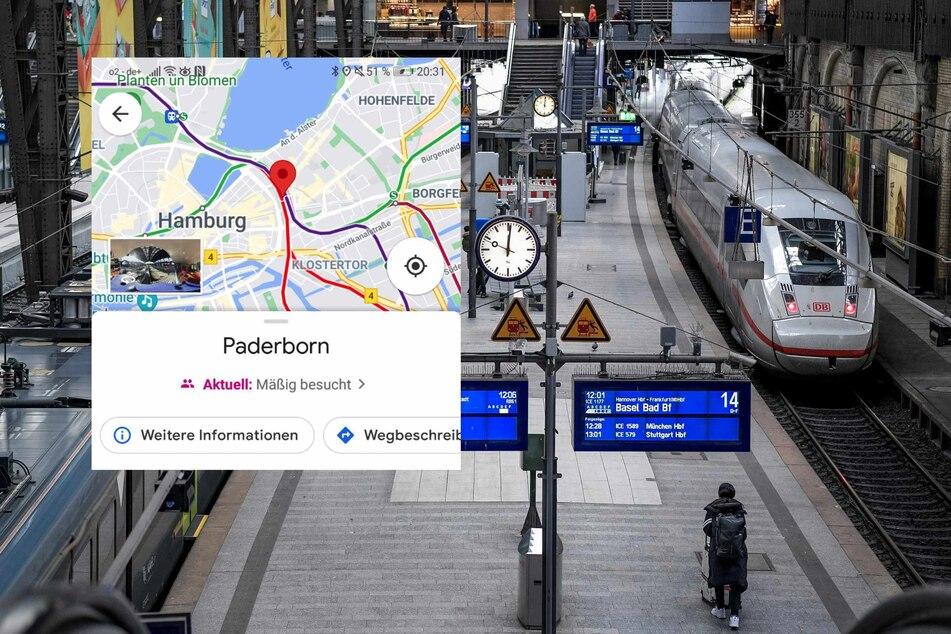 Fehler bei Google: Paderborn liegt plötzlich mitten in Hamburg