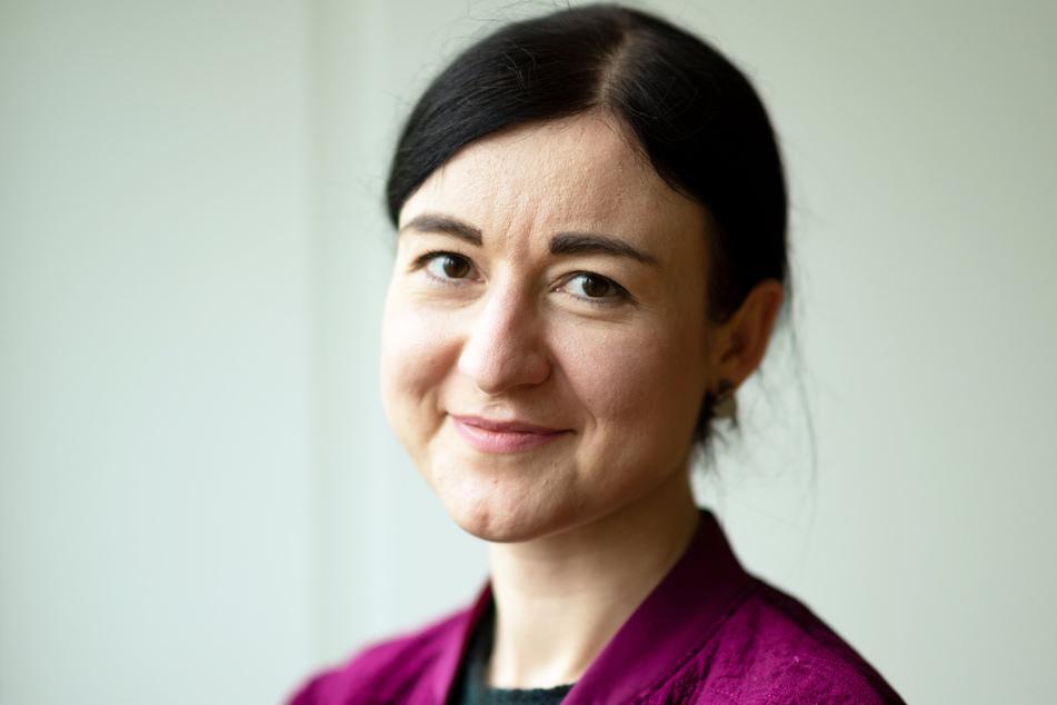 Paula Piechotta (35, Spitzenkandidierende und Direktkandidatin im Wahlkreis 153, Leipzig II).