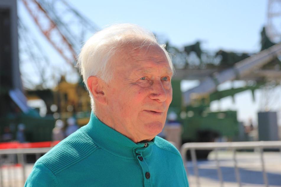 Am 26. August 1978 flog Sigmund Jähn als erster Deutscher ins Weltall. Am Sonntag feiert er das Jubiläum in Morgenröte-Rautenkranz.