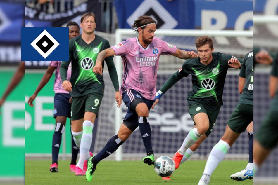 Harnik trifft! Neuzugang rettet HSV-Remis gegen Wolfsburg