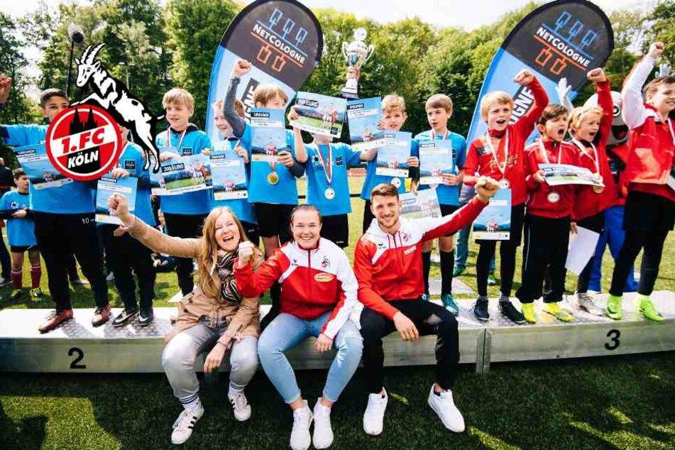 Talent-Cup 2018: FC-Star Özcan ist das Vorbild