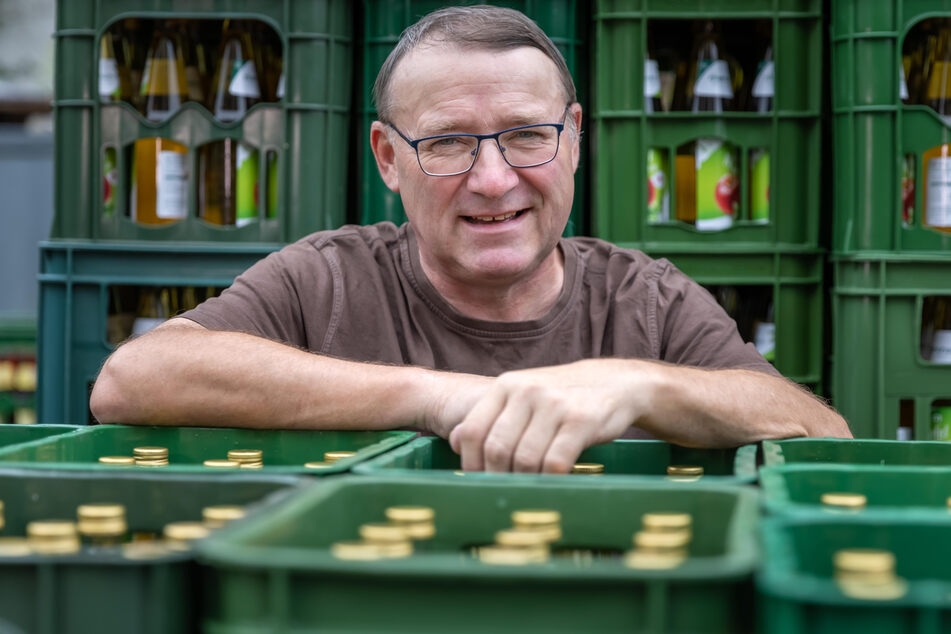 Mathias Mehlhorn (62), Vorsitzender des Fruchtsaftverbands Sachsen.