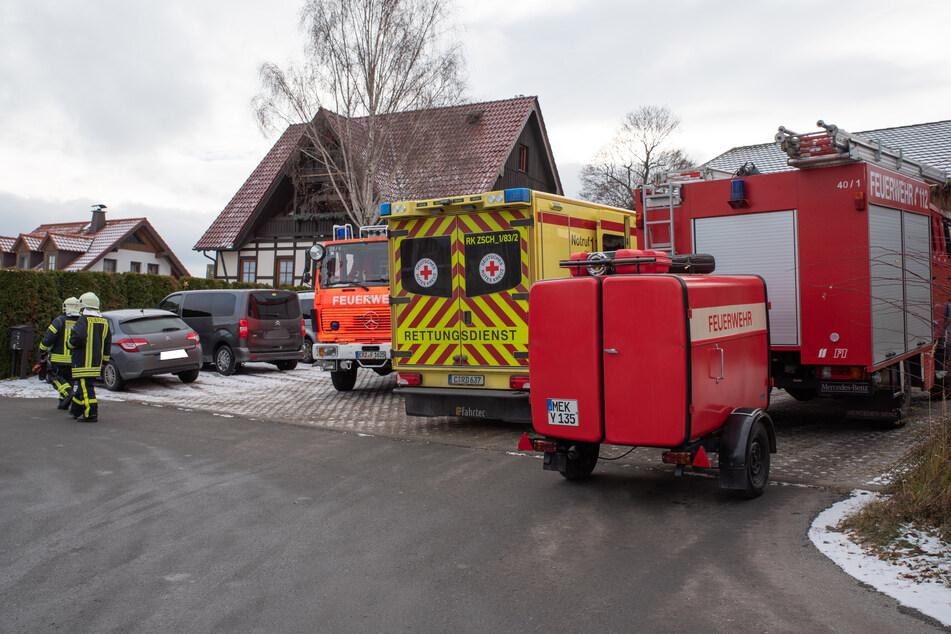 Geschirrspüler in Flammen! Küchenbrand im Erzgebirge