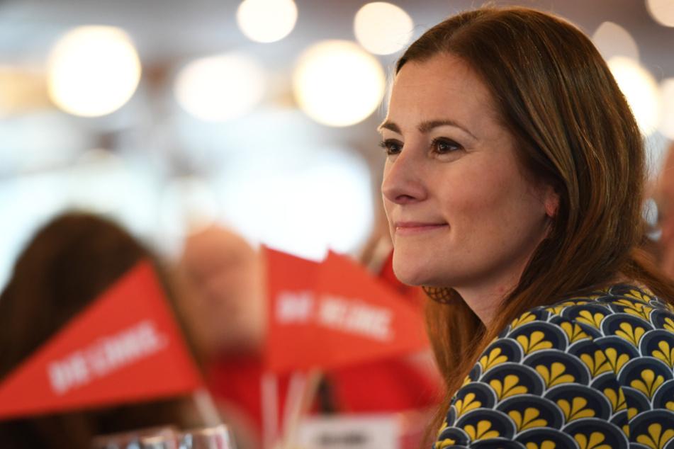 Das Foto aus dem Februar zeigt die Linken-Politikerin Janine Wissler.