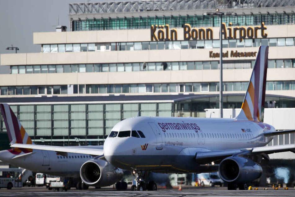 Lag am Dienstag im Rennen um die höchste Temperatur vorne: Flughafen Köln/Bonn.