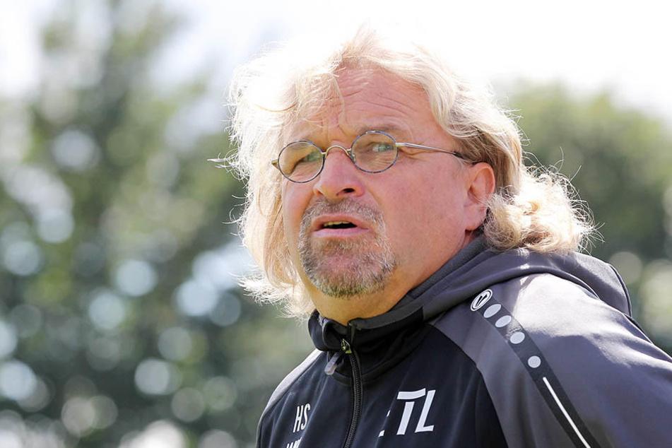 Lok-Trainer Heiko Scholz musste mit ansehen, wie seine Elf Chance um Chance vergab.