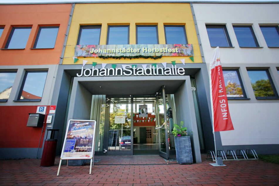 In der JohannStadthalle wird dieses Wochenende gefeiert.