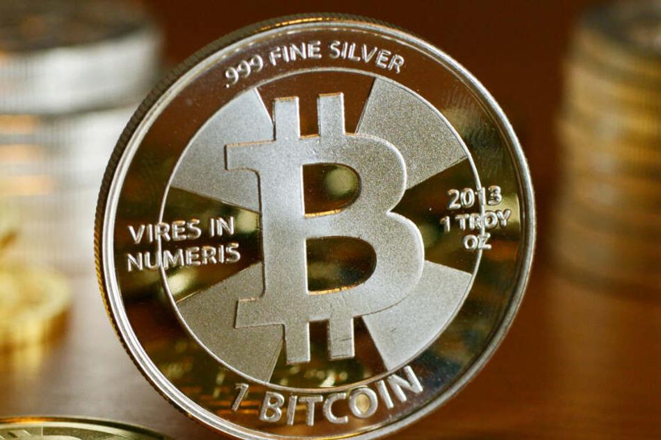 Die Digitalwährung Bitcoin verbraucht sehr viel Rechenleistung von Computern und damit Energie.