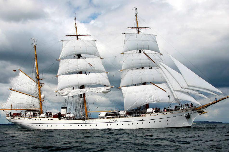 """Die """"Gorch Fock"""" ist das Segelschulschiff der Marine."""