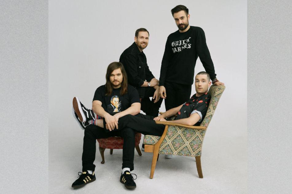 Die britische Rockband Bastille tritt für den Guten Zweck in der Elphi auf.