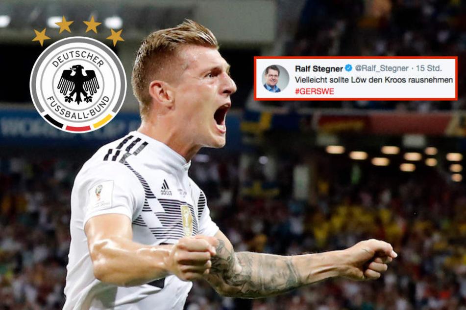 Live bei Twitter: SPD-Vize forderte Auswechslung von Matchwinner Toni Kroos!