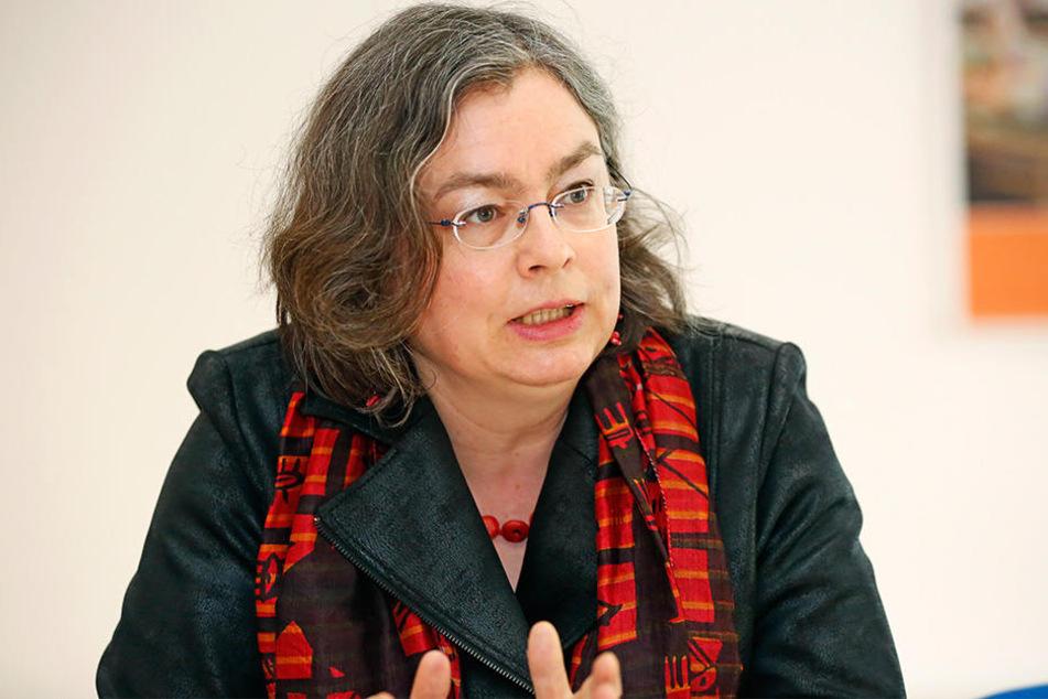 Wacht als Umweltbürgermeisterin über Hochwasserschutz-Auflagen: Eva Jähnigen (52, Grüne).
