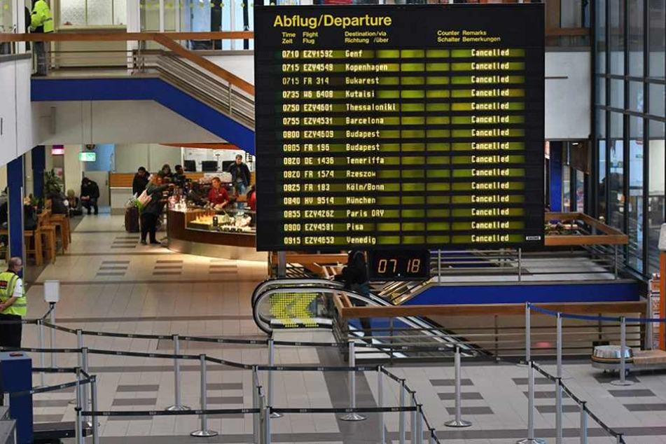 Verdächtiger Gegenstand: Flughafen Schönefeld geräumt