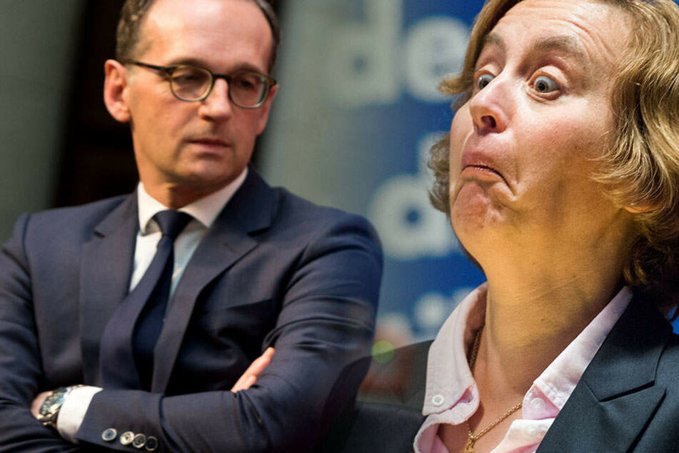"""""""Sparen sie sich Ihr BLABLA"""": AfD-Vize Storch beschimpft Minister Maas"""