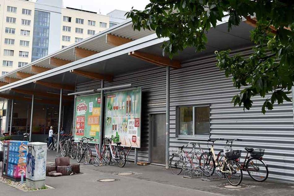 An diesem Supermarkt in Potsdam entführte die Frau das Baby.