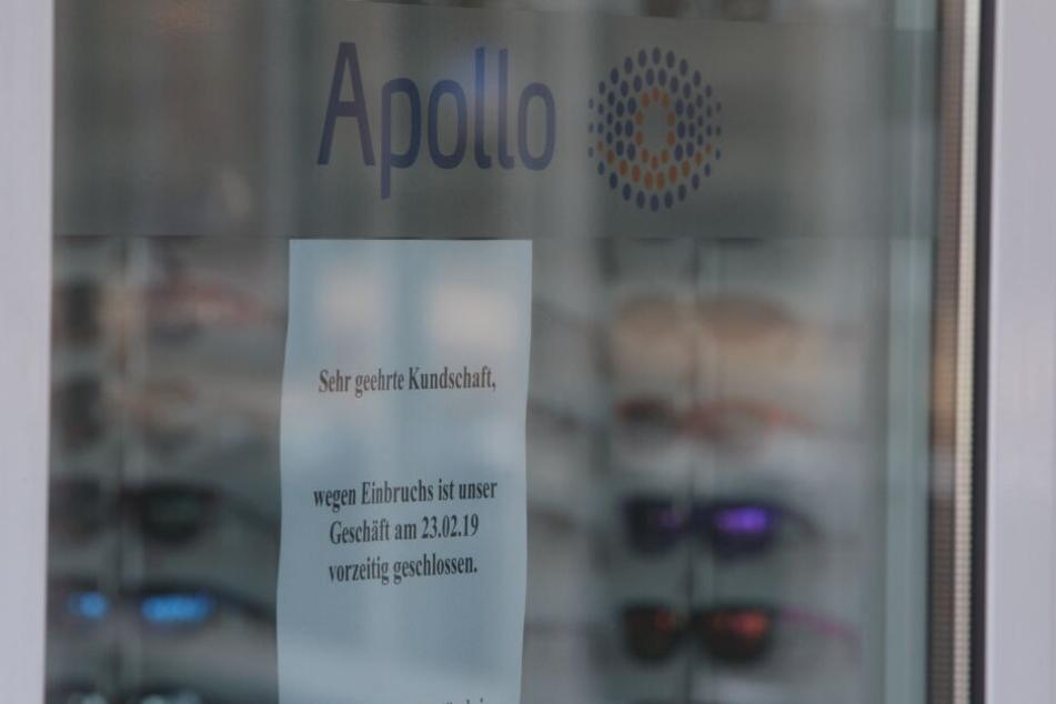 Am Samstag blieb der Laden wegen des Einbruchs geschlossen.