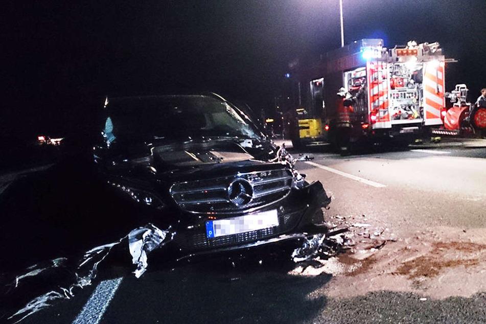 Dieser tödliche Geisterfahrer-Unfall ereignete sich 2013 bei Erfurt. Eine Frau starb.