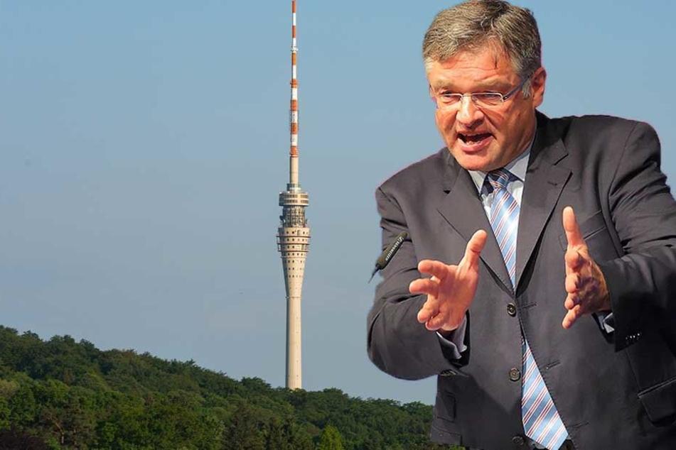 Die nächsten Schritte bis zur Eröffnung des Dresdner Fernsehturms