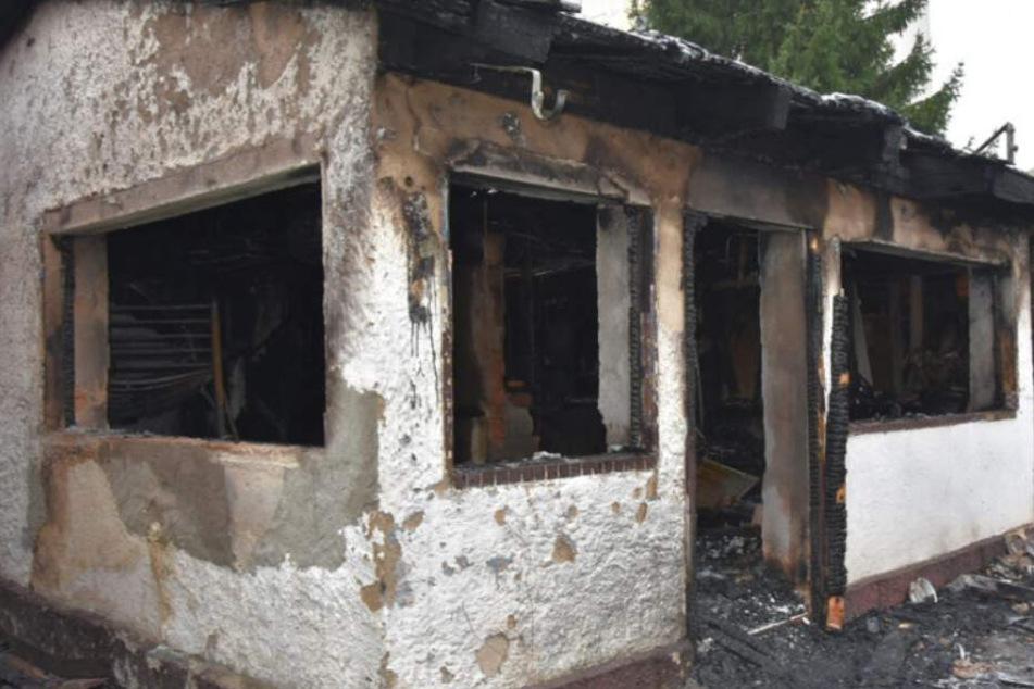 Erneut Brand in Görlitzer Gartensparte: Laube steht in Flammen!