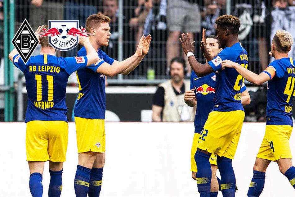 Königsklasse ruft: RB Leipzig triumphiert auch bei Gladbach!