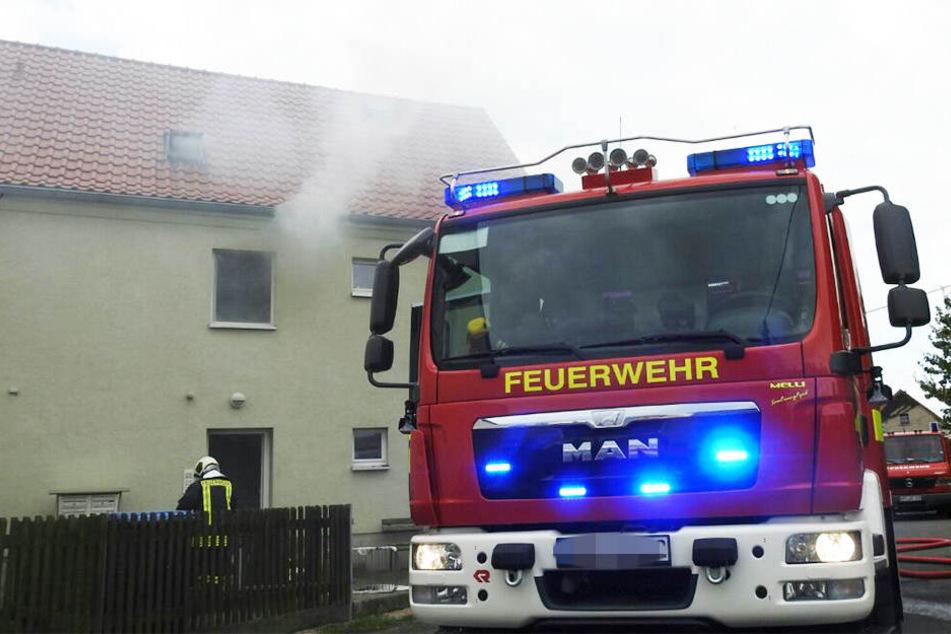 Offenbar hatte die überlastete Technik einer Indoor-Hanfplantage den Brand in dem Mehrfamilienhaus in Grimma ausgelöst.