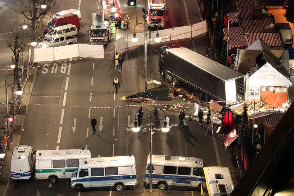 Bei dem Anschlag im Dezember starben 12 Menschen auf dem Berliner Weihnachtsmarkt.