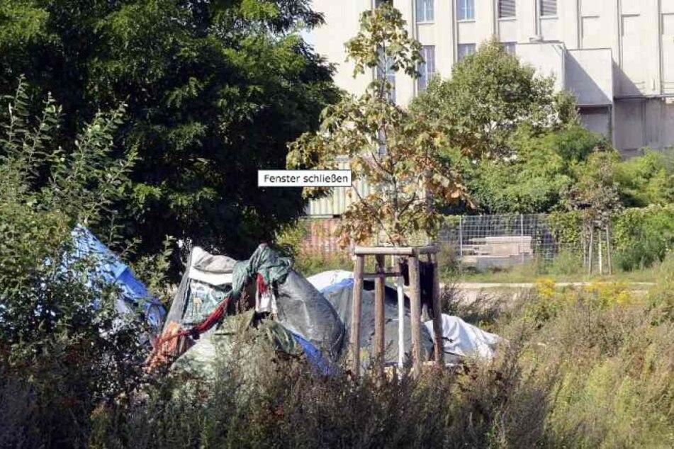 Das illegale Zeltlager vorm Berghain soll verschwinden.