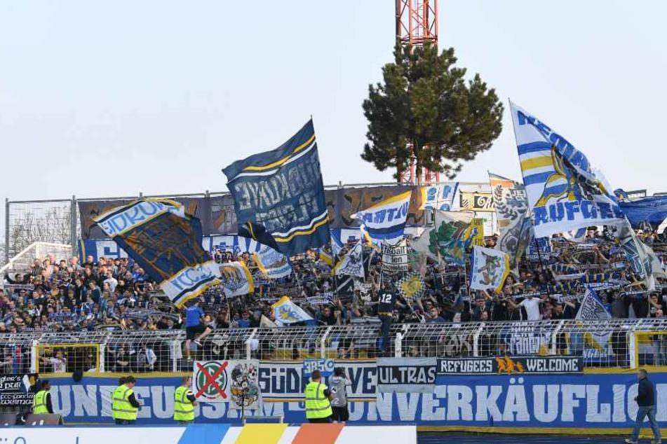Im neuen Stadion ist die Südkurve Geschichte und die Fans müssen in den Norden. (Archivbild)