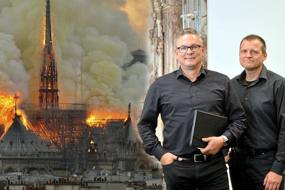 Nach Großfeuer von Notre-Dame: Dresdner Firma will beim Aufbau helfen