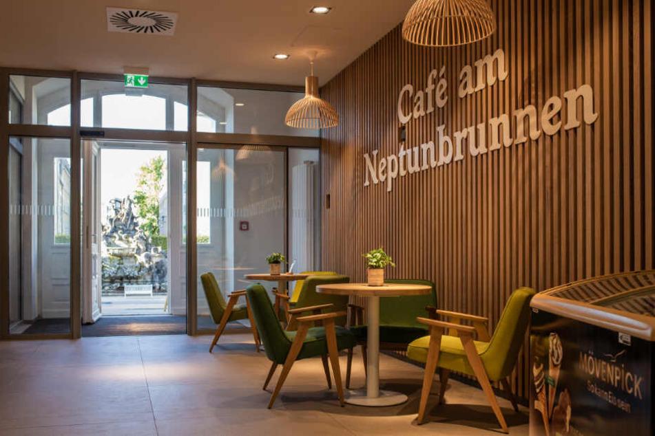 Mit Liebe zum Detail: Das neue Café am Neptunbrunnen