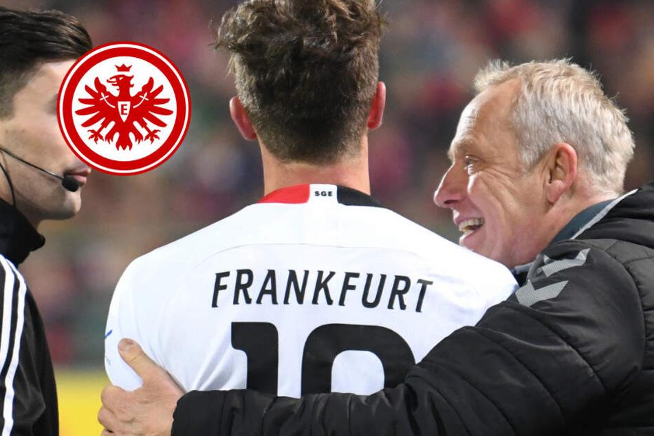 Nach Bodycheck gegen Freiburg-Trainer Streich: Abraham bleibt Eintracht-Kapitän