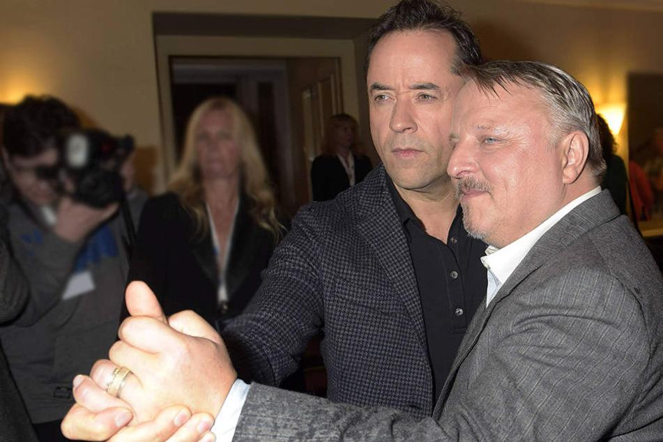 Jan Liefers (52, li.) und Axel Prahl (56) drehen weiter!