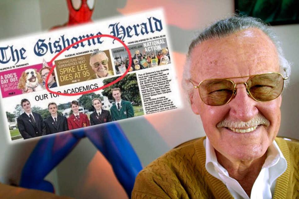 Nachruf missglückt: Zeitung verwechselt Stan Lee (†95) und erklärt anderen für tot