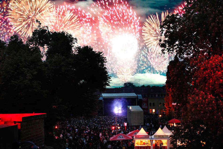 In der Zitadelle weiß man, wie gefeiert wird. Im Rahmen des Citadel Music Festivals findet dort der Nachtmarkt statt. (Symbolbild)