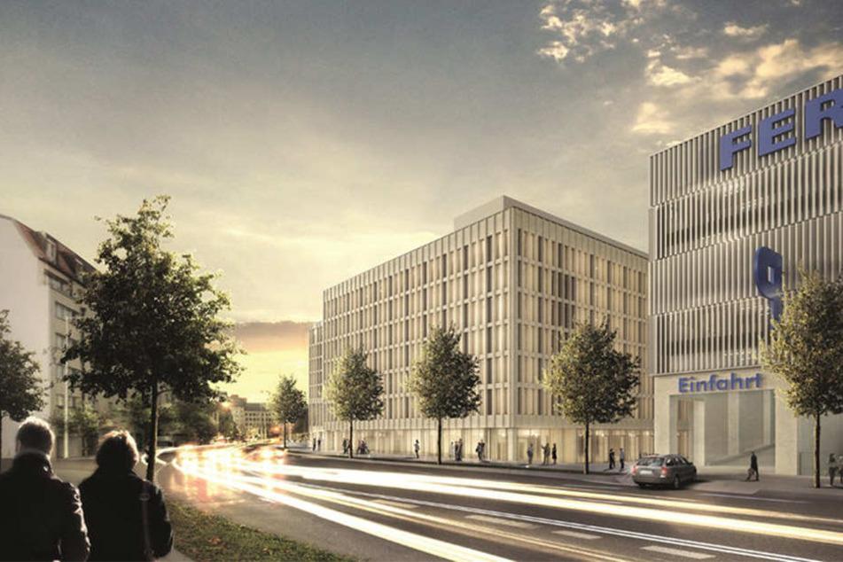 An der Ostseite des Hauptbahnhofs eröffnet Deutschlands modernstes Busterminal.