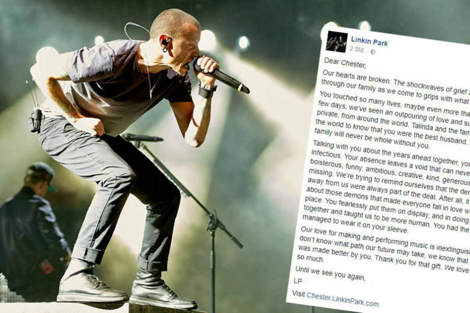 So emotional verabschieden sich Linkin Park von Sänger Chester
