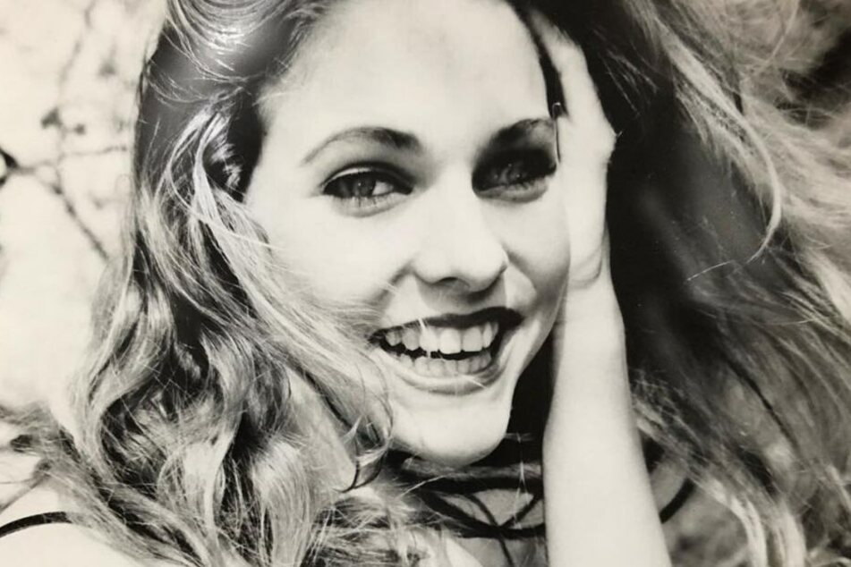 Sonya Kraus auf einem Foto im Alter von 15 Jahren.