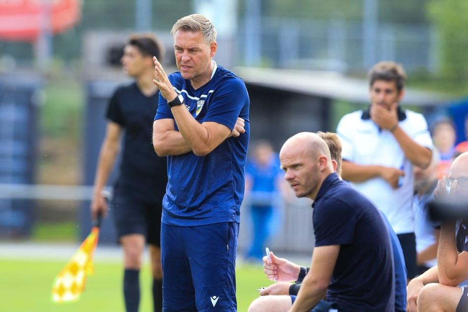 FCC-Trainer Dirk Kunert (52, l.) und Sportdirektor Tobias Werner (35, r.).