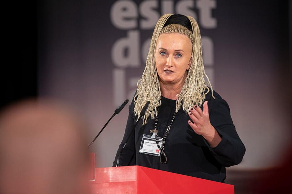 Die Leipziger Gewerkschafterin Irena Rudolph-Kokot hat sich ebenfalls durchgesetzt
